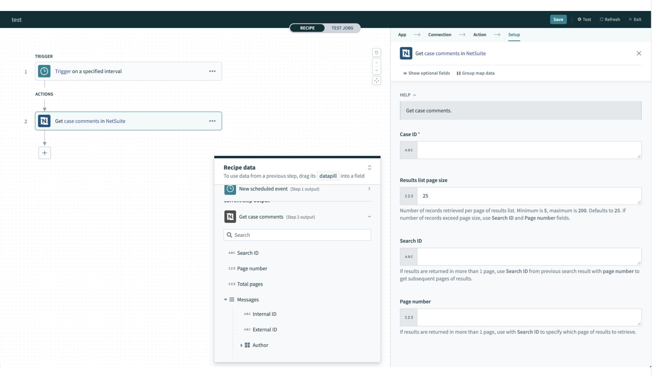 Netsuite SuiteTalk 2020_2 API