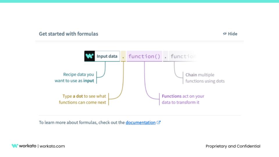 Formula guide