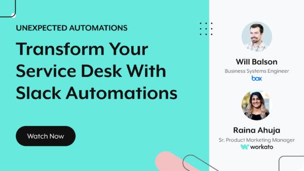 transform your service desk