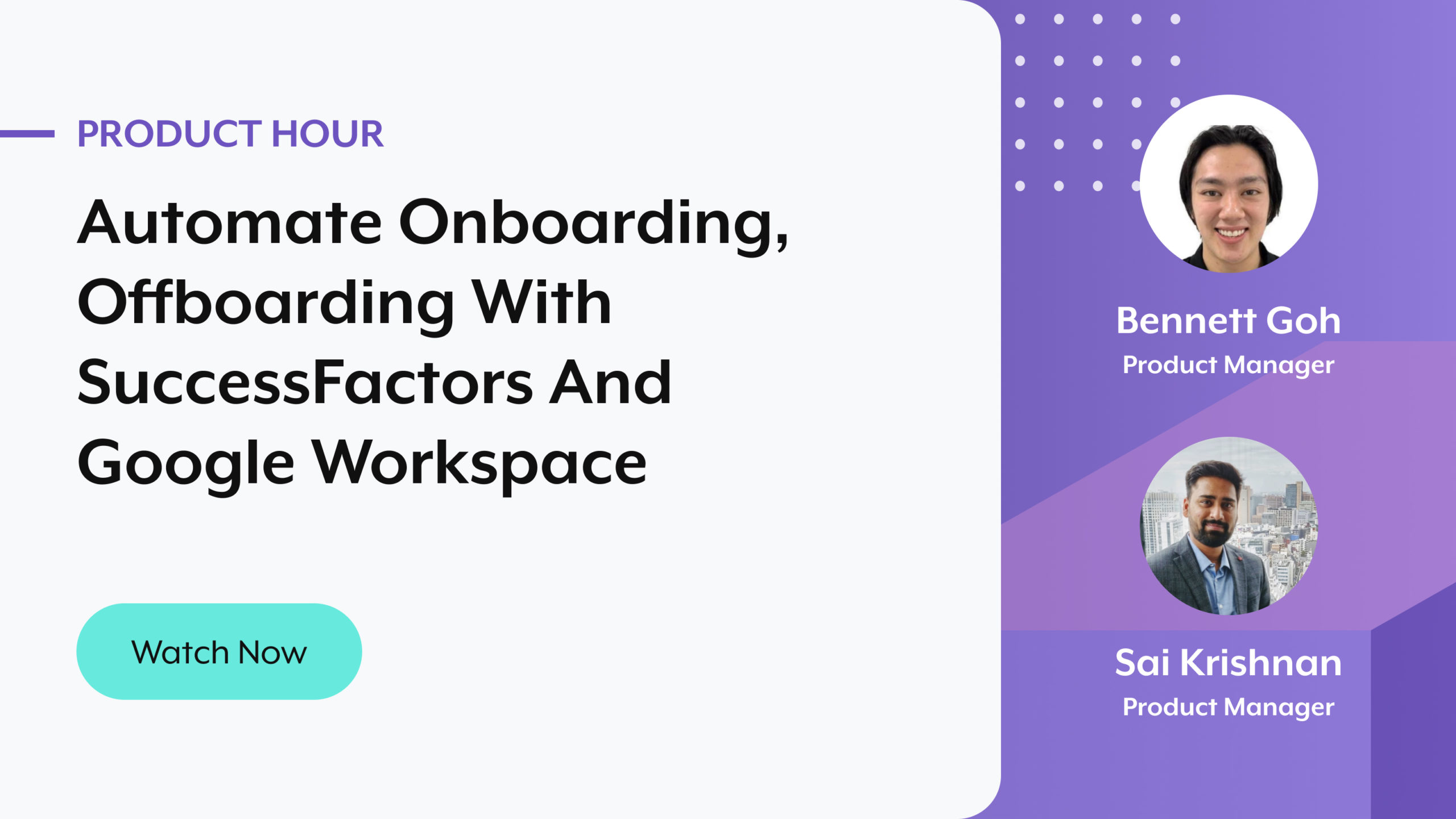 automate onboarding, offboarding