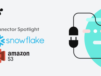 Amazon S3 and Snowflake connector