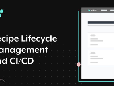 recipe lifecycle management