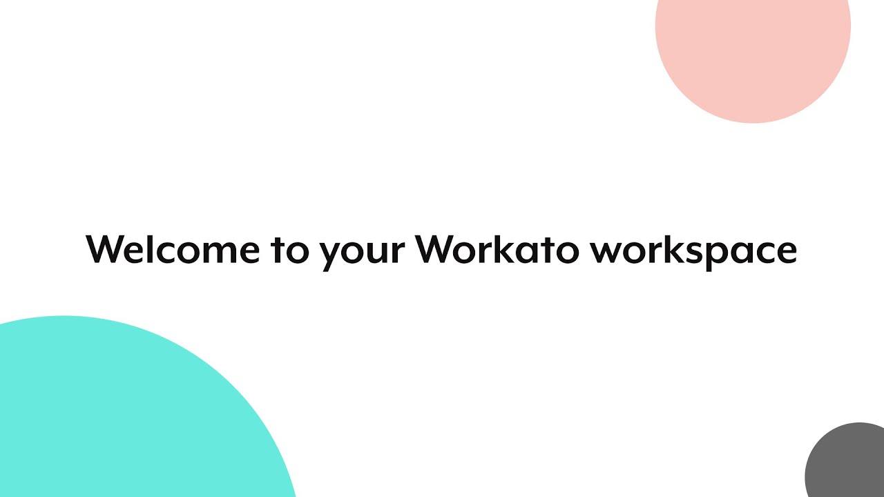 workato workspace
