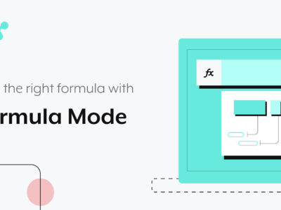 building recipes easily with formulas